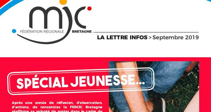 la news de septembre «spécial jeunesse»